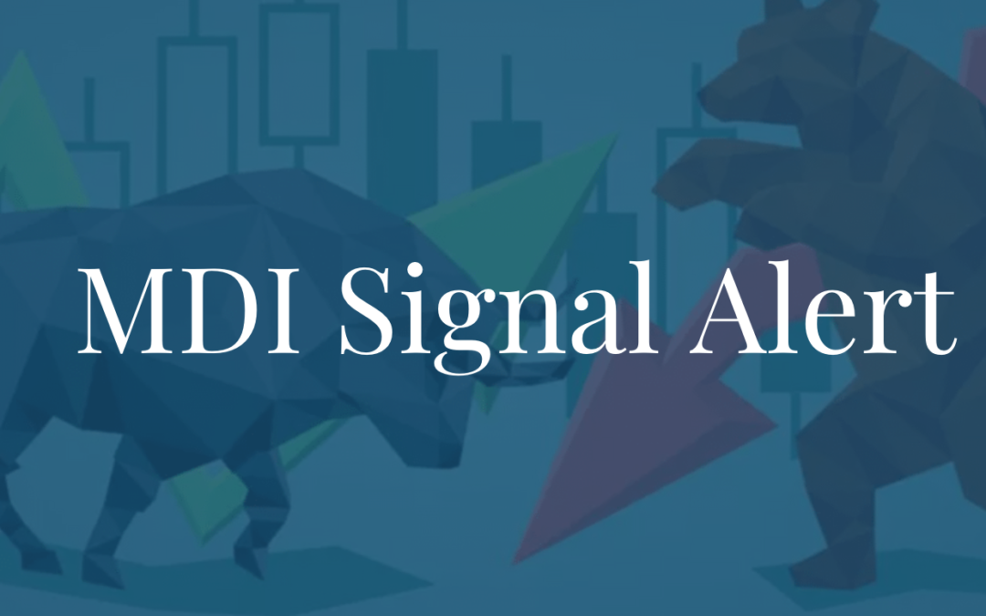 Nasdaq 100 MDI Sell Signal Confirmed
